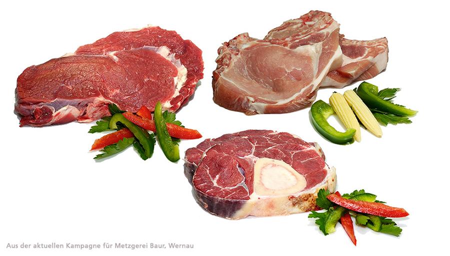 Frischfleisch von Metzgerei Baur