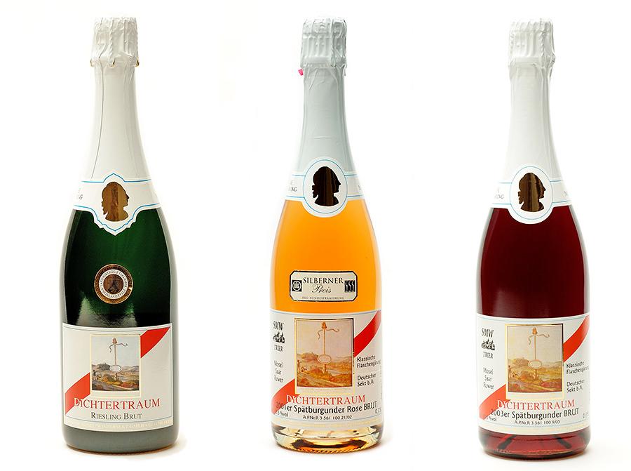 Produktfotografie Sektflaschen Deutschland Deutscher Winzersekt Produktfotos
